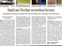 Stadt am Neckar verstehen lernen